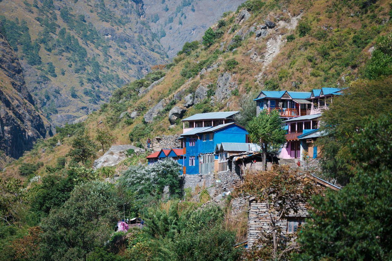 A view of Soti Khola.