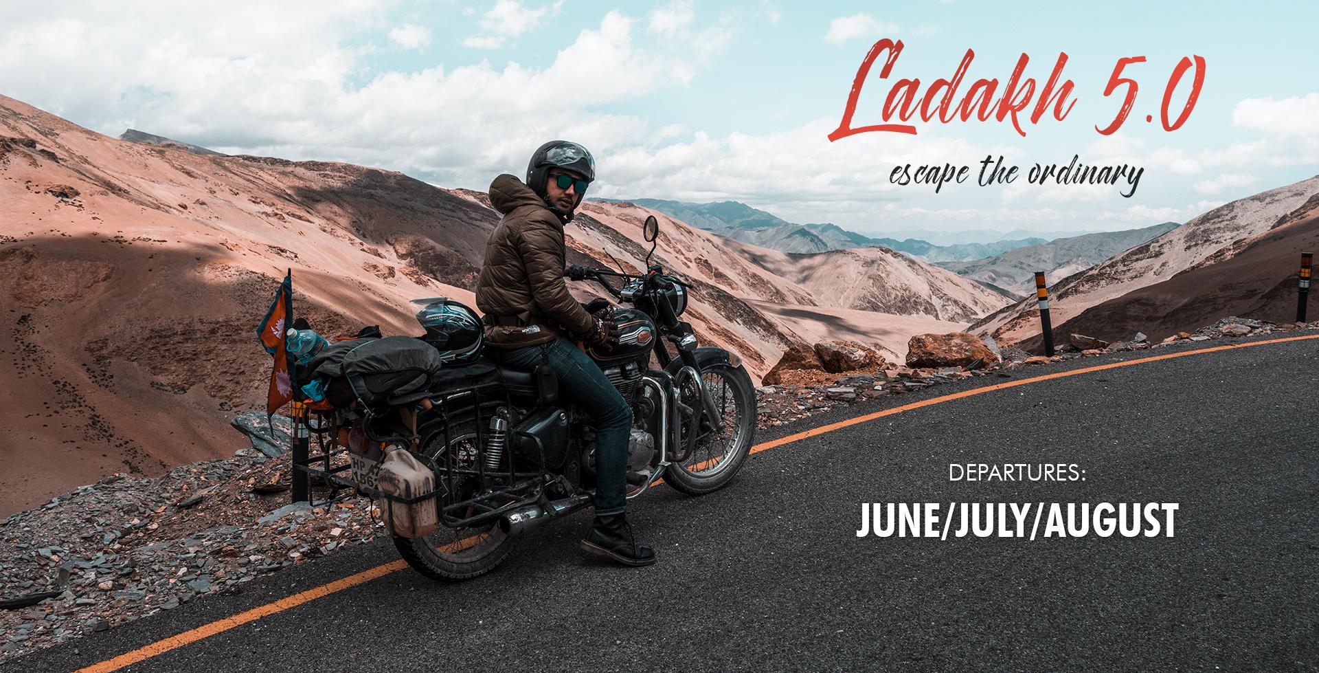 Motorbike expedition