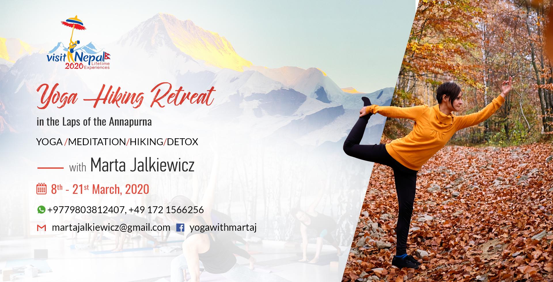 Yoga Marta, Hiking Retreat