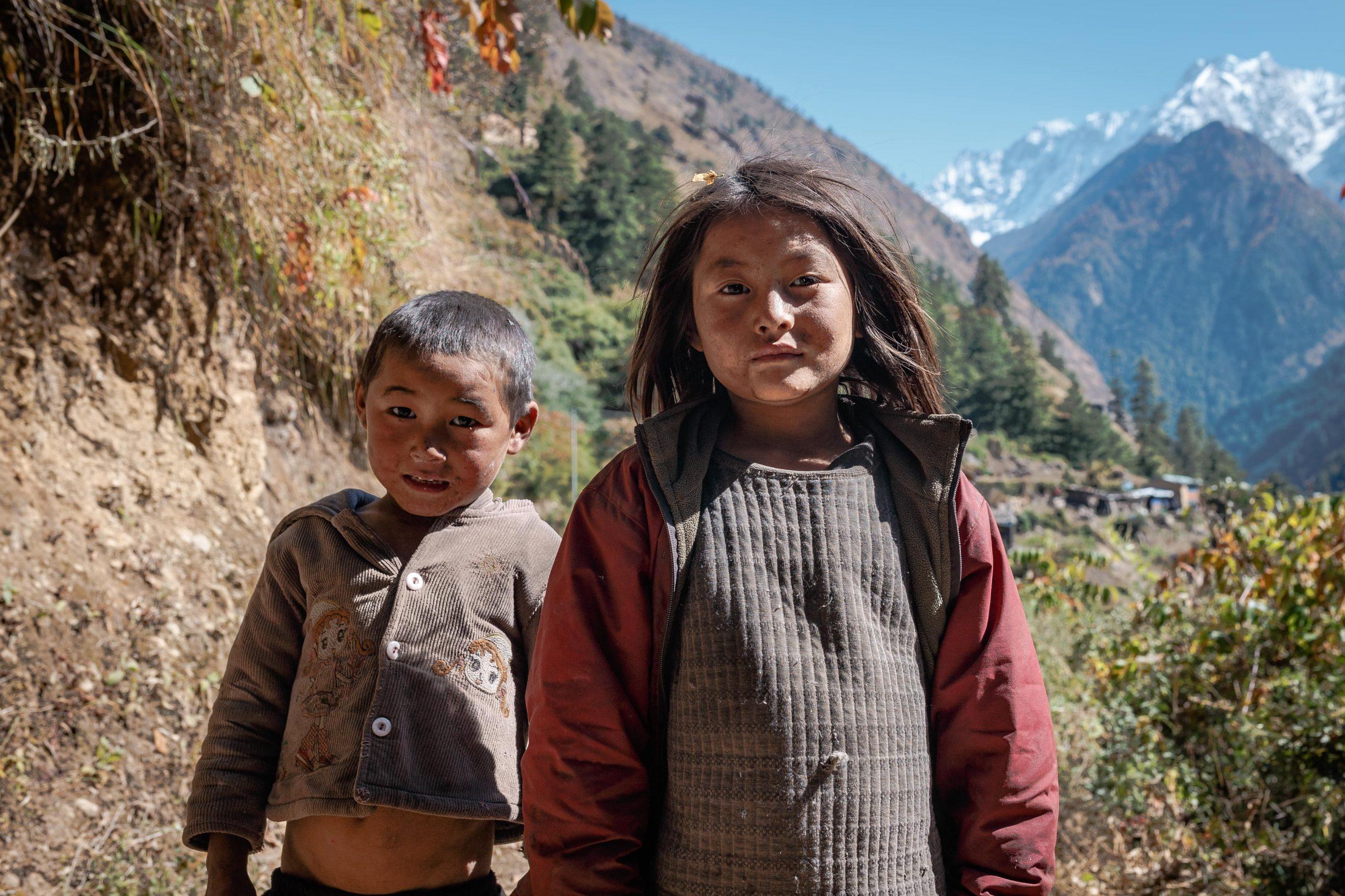Little Fellas of Lower Manaslu